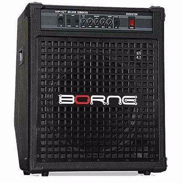 Amplificador Baixo Borne Impact Bass CB200 Preto 200W