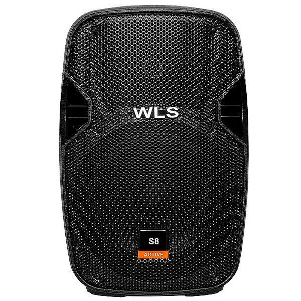 """Caixa Amplificada 8"""" WLS S8 150W"""