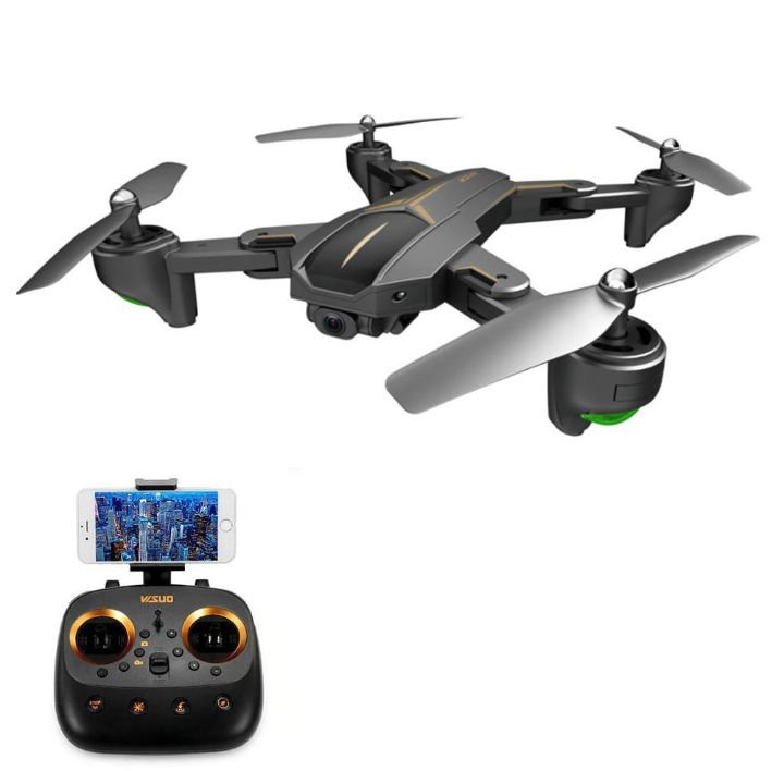 VISUO XS812 GPS 5G WiFi FPV com 5MP / 4K HD Câmera 15mins Tempo de vôo Dobrável RC Drone Quadricóptero RTF - With Searchlight 4K Camera Duas Baterias Produto Importado Compra Segura Em Nosso Site. Envio Internacional E Frete Grátis🛩✈🛫