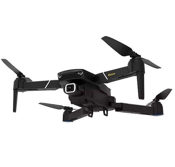 Eachine E520S GPS WI-FI FPV Com 4 K / 1080P HD Câmera 16mins Tempo de Vôo Dobrável RC Drone Quadricóptero - Preto 5G WiFi 4K HD Uma bateria Produto Importado, Pronta Entrega E Frete Grátis🛩✈🛫