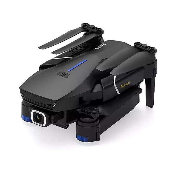 Eachine E520S GPS WI-FI FPV Com 4 K / 1080P HD Câmera 16mins Tempo de Vôo Dobrável RC Drone Quadricóptero - Preto 2.4G WiFi 4K HD Uma bateria Produto Importado. Envio Internacional E Frete Grátis🛩✈🛫