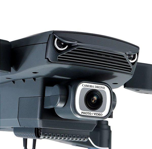 Eachine E520 WI-FI FPV Com 4K / 1080P HD Grande Angular Da Câmera de Alta Hold Modo Dobrável RC Zangão Quadricóptero RTF Duas Baterias. Envio Internacional E Frete Grátis🛩✈🛫