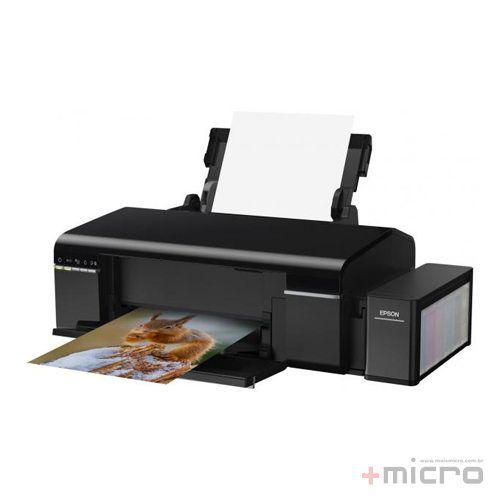 Impressora jato de tinta wireless Epson Ecotank L805