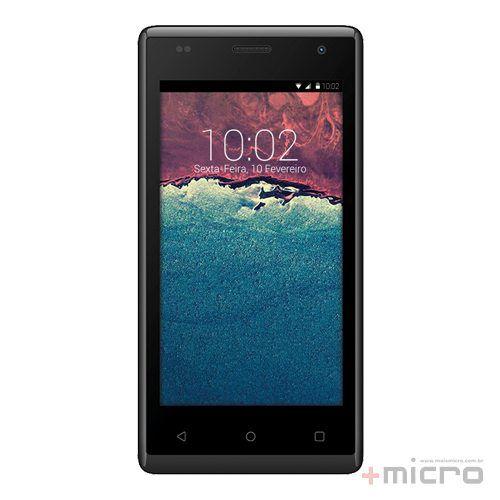 Smartphone dual chip C3 Tech SM-450 preto