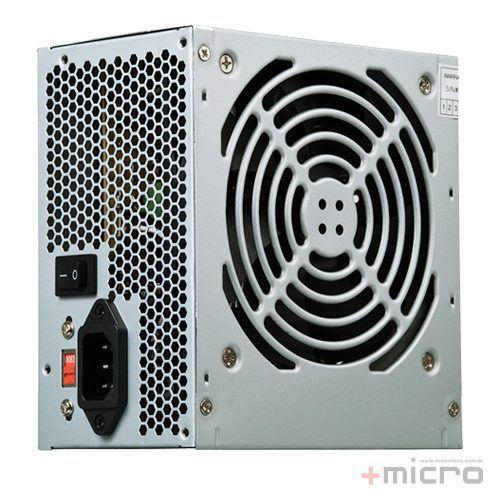 Fonte de alimentação ATX 500W reais C3 Tech PS-500