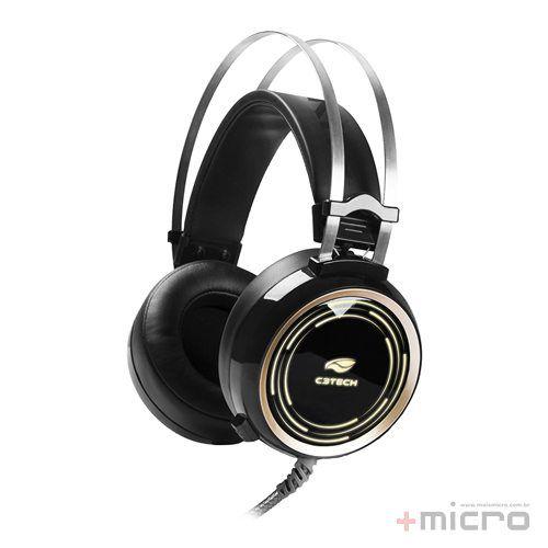 Headset gamer C3 Tech Black Kite PH-G310BK