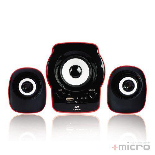 Speaker 2.1 C3 Tech SP-10RD USB