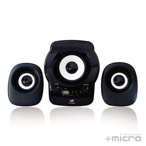 Speaker 2.1 C3 Tech SP-10BK USB
