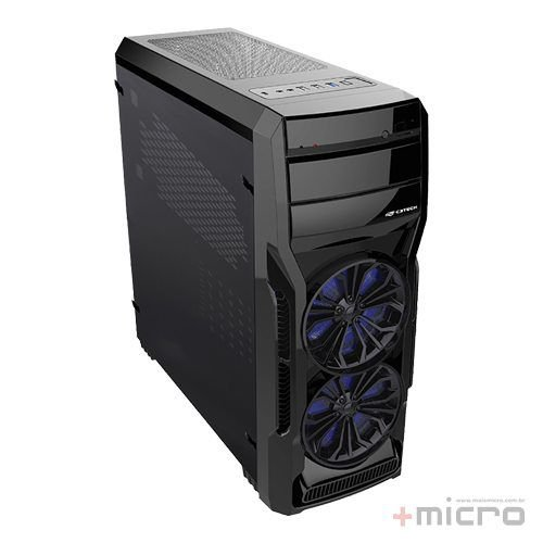 Gabinete gamer C3 Tech MT-G650BK