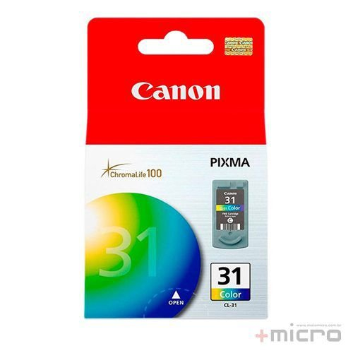 Cartucho de tinta Canon CL-31 colorido