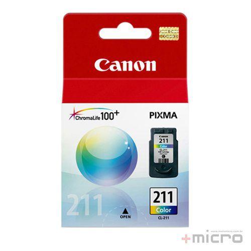 Cartucho de tinta Canon CL-211 colorido