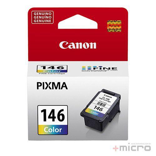 Cartucho de tinta Canon CL-146 colorido