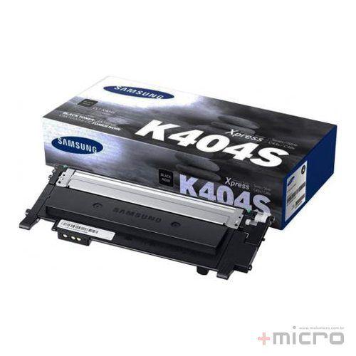 Toner Samsung CLT-K404S preto