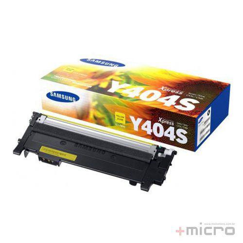 Toner Samsung CLT-Y404S amarelo