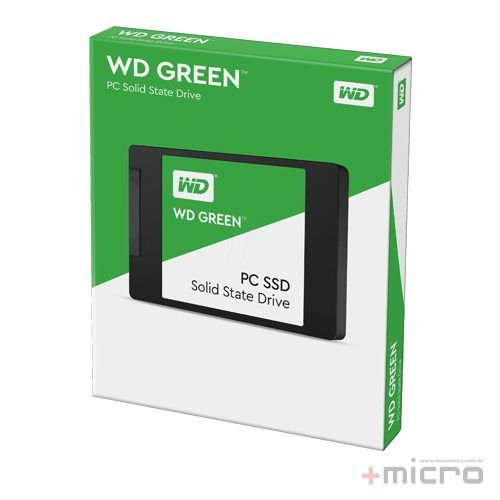 SSD 240 Gb SATA Western Digital Green Series G2