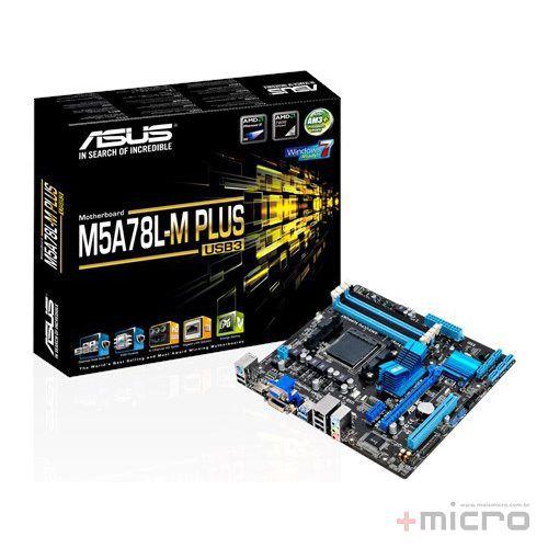 Placa-mãe Asus M5A78L-M PLUS/USB3