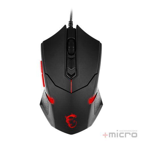 Mouse gamer laser USB msi Interceptor DS B1