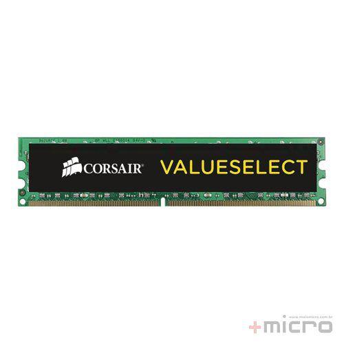 Memória 8 Gb DDR4 Corsair Value Select 2400 MHz