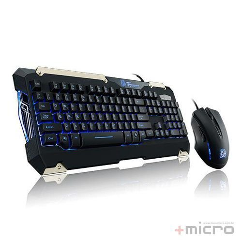 Combo gamer Thermaltake Commander (KB-CMC-PLBLPB-01)