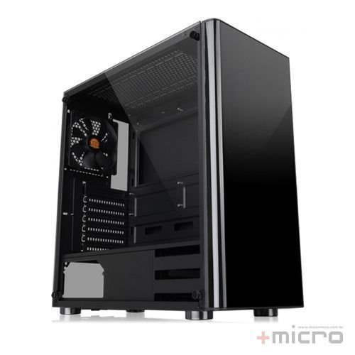 Gabinete gamer Thermaltake V200 Tempered Glass (CA-1K8-00M1WN-00)