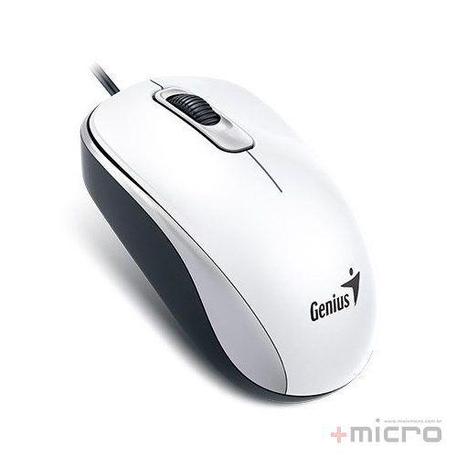 Mouse USB Genius DX-110 branco