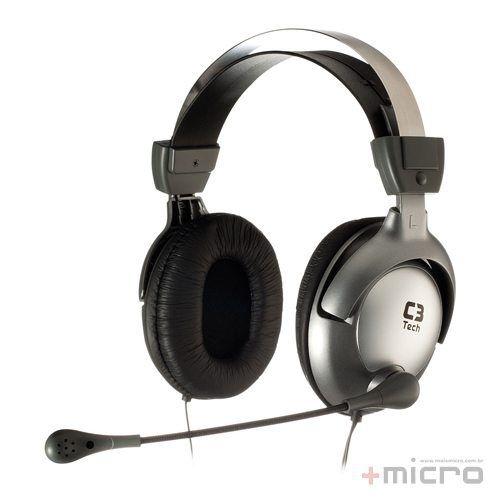 Headset gamer C3 Tech Raptor MI-2870RS