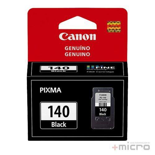 Cartucho de tinta Canon PG-140 preto