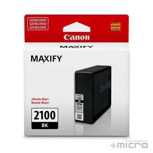 Cartucho de tinta Canon PGI-2100 preto