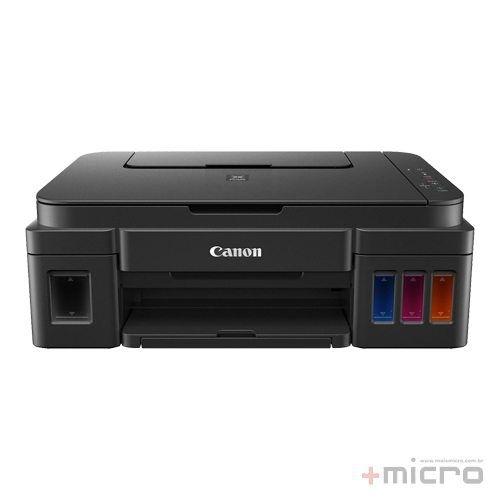 Impressora multifuncional tanque de tinta Canon Pixma G2100