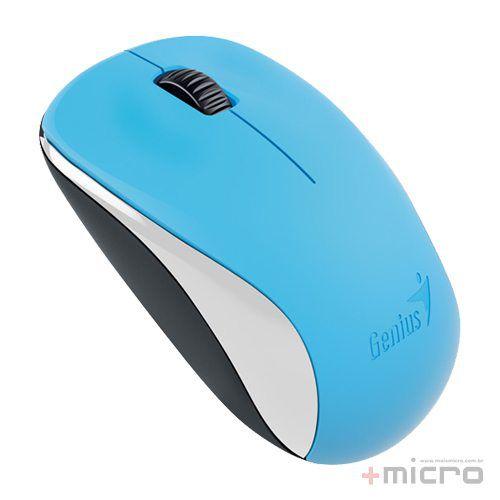 Mouse wireless USB Genius infravermelho BlueEye NX-7000 azul