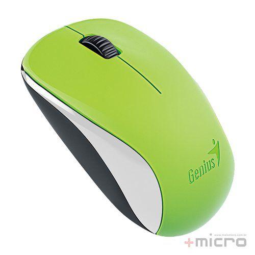 Mouse wireless USB Genius infravermelho BlueEye NX-7000 verde