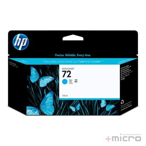 Cartucho de tinta HP 72 (C9371A) ciano 130 ml