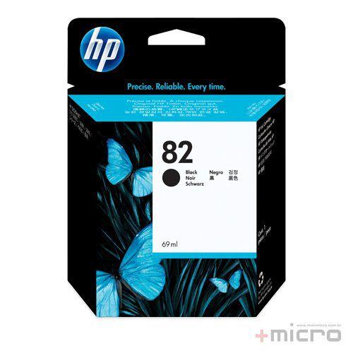 Cartucho de tinta HP 82 (CH565A) preto 69 ml