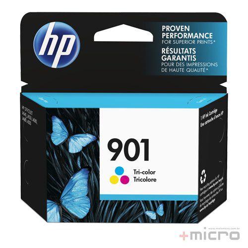 Cartucho de tinta HP 901 (CC656AB) colorido 13 ml