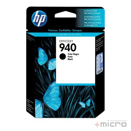 Cartucho de tinta HP 940 (C4902AB) preto 28 ml