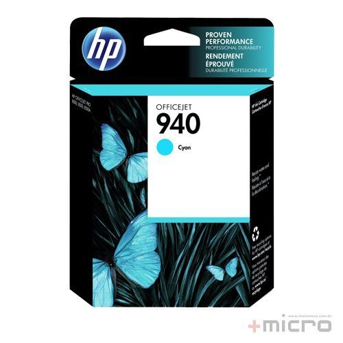 Cartucho de tinta HP 940 (C4903AB) ciano 14 ml
