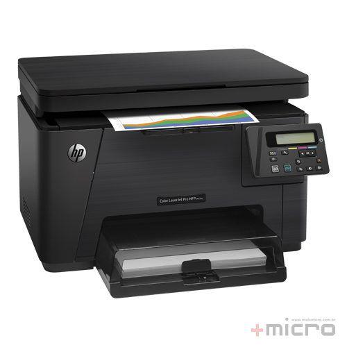 Impressora multifuncional laser Color LaserJet Pro MFP M176N (CF547A)