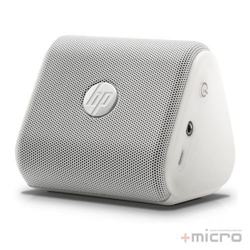 Speaker mobile Bluetooth HP Roar Mini (G1K47AA) USB branco