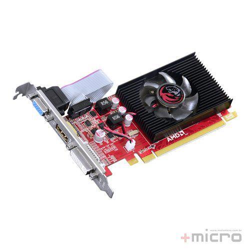 Placa de vídeo PCI-E PCYes AMD Radeon HD5450 1 Gb DDR3 64 Bits