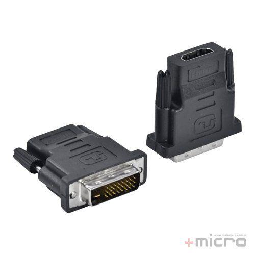 Adaptador DVI 24+1 M x HDMI F Vinik AHF-DVI (23576)