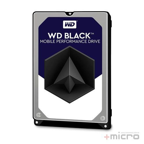 Hard disk para notebook 500 Gb Western Digital Black Series