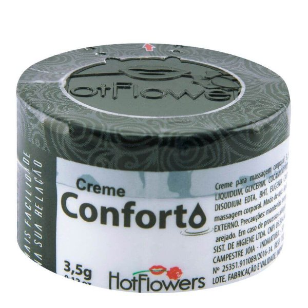 Gel Conforto Excitante Anal 3,5gr Hot Flowers