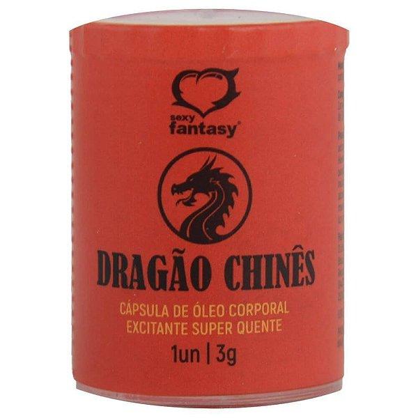 Dragão Chinês Cápsula 1 Unidade Sexy Fantasy