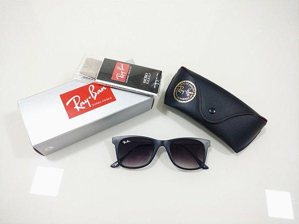 32e6cf84b Óculos de Sol Ray-Ban Wayfarer Slim Preto Lançamento Masculino e Feminino