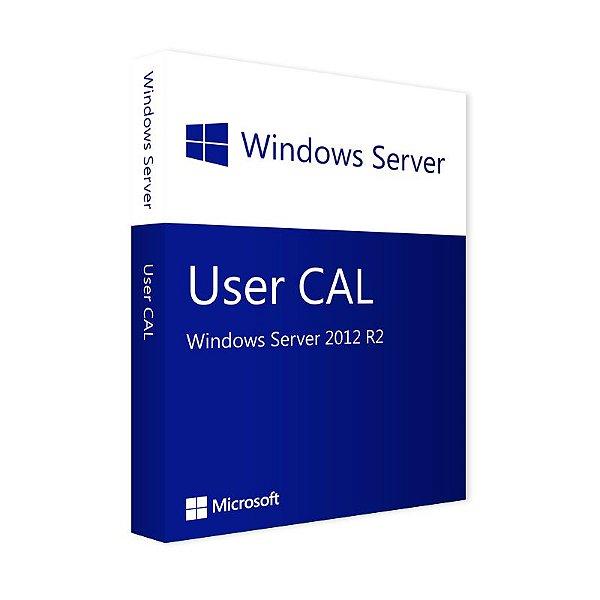Pacote de 5 CALS de Usuário para Windows Server 2012 R2