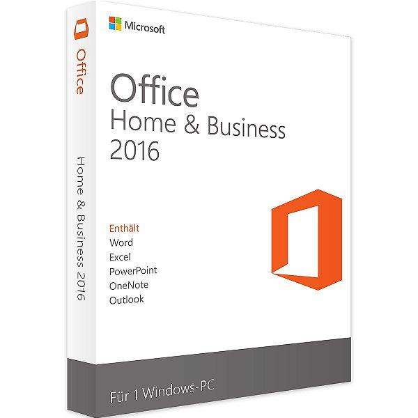 Office home & Business 2016 para Windows