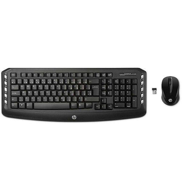 Kit Teclado e Mouse Gamer S/fio HP Lv290aa