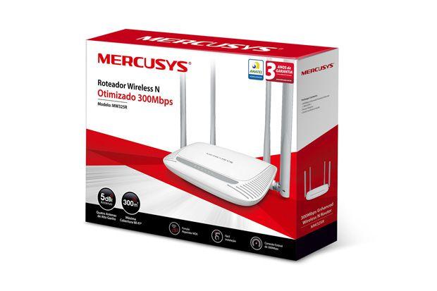 Roteador Mercusys Wifi 300mbps  Mw325r