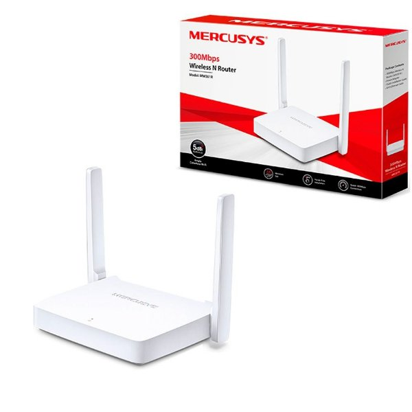 Roteador Wireless N 300Mbps  MW301R