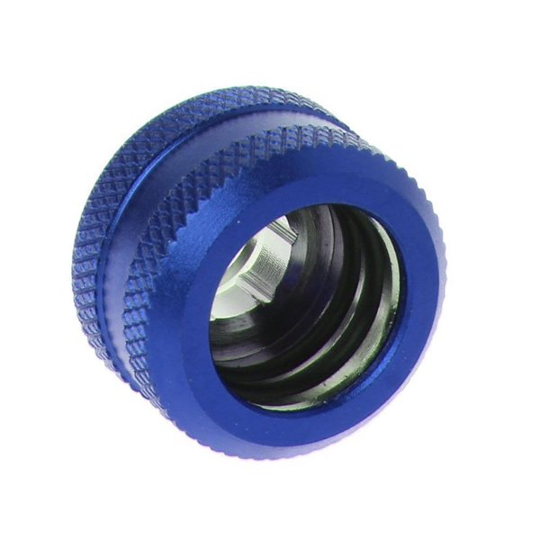 Water Cooler Fitting Compression Azul Barrow p/ Tubo Rígido OD 14mm
